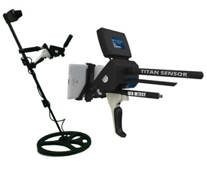 GER Detect Titan 1000 - Professional Deep 3D Geolocator Metal Detector for Gold
