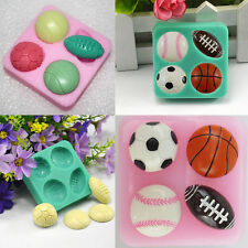 3D Silicone Cake Mould Decorating Chocolate DIY Tools Ball-shaped  Baking Mold