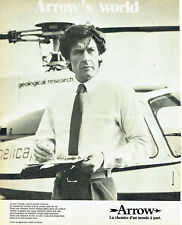Publicité Advertising 107 1980  chemise homme  Arrow  Arrow's world