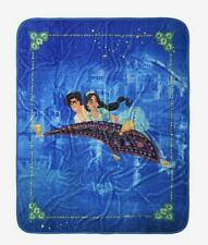 DISNEY ALADDIN PLUSH THROW BLANKET NEW!