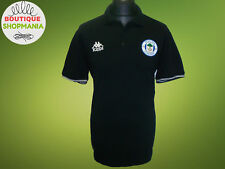 WIGAN ATHLETIC Kappa Black (XL) Polo Shirt Jersey Maglia Camisa Mailot Soccer