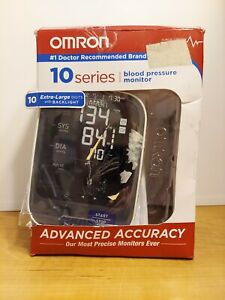 Omron 10 Series Wireless Upper Arm Blood Pressure Monitor; 2-User, 200-Reading