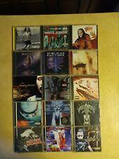 Metal CD Lot Of 15 (Slipknot/Manson/Zombie/Korn/Ozzy/NIN & more) See pics & Desc