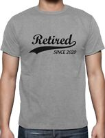 Retired Since 2020 - Retirement Gift Idea T-Shirt Funny