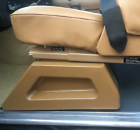 RANGE ROVER CLASSIC 2 DOOR SEAT FRAME PANELS PAIR TRIM FIBERGLASS TOP QUALITY