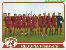 314 SQUADRA TEAM ITALIA REGGINA CALCIO STICKER CALCIATORI 2004 PANINI
