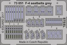 Eduard 1/72 McDonnell F-4 Phantom Seatbelts Grey STEEL # 73051