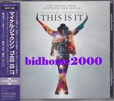 Michael Jackson - This Is It CD (Japan Press OBI) EICP 1284 日本版
