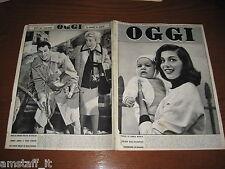 OGGI 1955/50=TONY CURTIS=JANET LEIGH=LUIGI LACHENAL=SIMENON=PIERANGELI A.M.=
