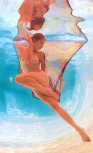 Pool Light. Howard Schatz. Fotografía de desnudos bajo el agua. Nude. Akt.