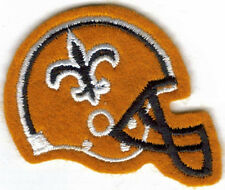 NEW ORLEANS SAINTS HELMET EMBROIDERED PATCH !