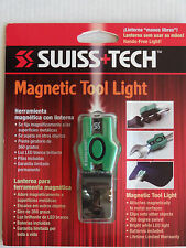 Swiss+Tech Magnetic Tool Light Cap Clip LED