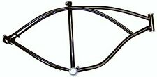 """26"""" Black Beach Cruiser bicycle Frame.Beach Cruiser bike Frame.bike parts 32791"""