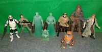 Star Wars Endor Lot x9 - Han LUKE Force Spirit OBI WAN Yoda ANAKIN Ewok SCOUT