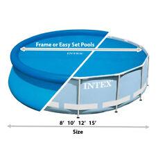 Intex 29023 Solar Pool Cover for 15ft Frame Easy Set Pools 457cm Diameter