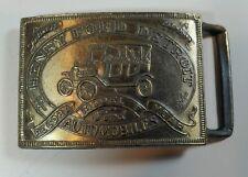 Vintage Belt Buckle Henry Ford Model T Automobiles Brasstone Metal