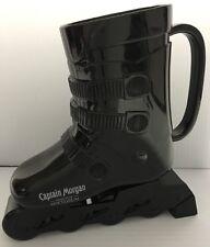 CAPTAIN MORGAN Black SKI BOOT SKIING PROMOTION ADVERTISING DRINKING CUP MUG