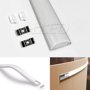 1m/100cm Bendable Extrusion Alloy Channel Bar for LED Strip Light Bathroom/Hotel