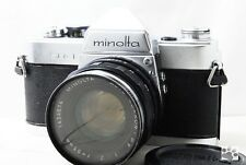 【Problem】Minolta SR-1 35mm Film SLR Camera Auto Rokkor-PF 55mm f/2 from Japan