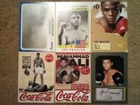 (100) 1983- Rare #d RC Auto RP Promo Insert Boxing Cards Lot Ali Mayweather + $