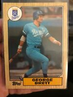 1987 Topps #400 George Brett Kansas City Royals - MINT CONDITION