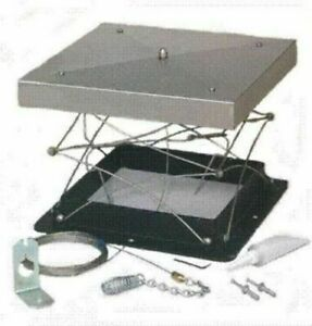 """Lock-Top 13"""" x 13"""" Energy Saving Damper Stainless steel and Cast-Aluminum"""
