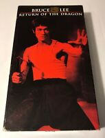 Return of The Dragon (VHS 1974) Bruce Lee, Chuck Norris, Martial Arts