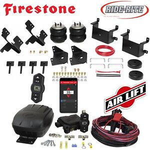 Firestone RideRite Air Bags AirLift Wireless Air Compressor for 15-20 Ford F-150