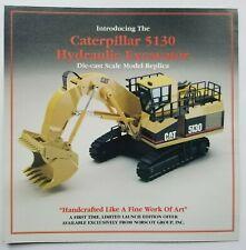 Caterpillar 5130 Hydraulic Excavator Die Cast Model Replica Sales Literature
