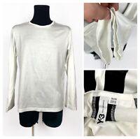 Mens Y-3 YOHJI YAMAMOTO ADIDAS Long Sleeve Shirt White Size XL