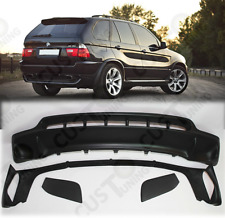 FRONT and REAR SPOILERS for BMW X5 E53 4.8is style fits on 2000-2003 pre facelif