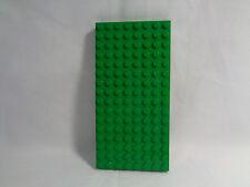 LEGO 8 X 16  - Green Grass Raised Flat Base Plate