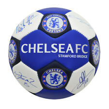 Chelsea FC Official Nuskin Signature Football SIZE 3 Blue &White With Club Crest