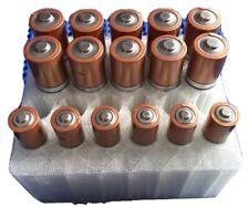 Aa & Aaa Battery Plastic Tray Holds 10 Aa & 12 Aaa Cells
