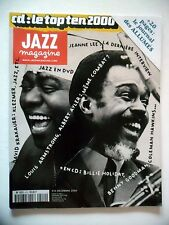 JAZZ MAGAZINE #510 Louis Armstrong,Albert Ayler,Jeanne Lee,David Krakauer(revue)