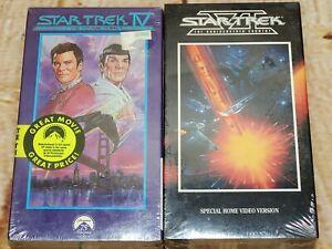Star Trek IV: The Voyage Home (1986) & Star Trek VI Undiscovered Country New