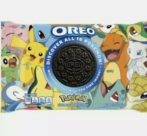 OREO'S Nabisco Limited Edition Pokemon Cookies -Hunt for MEW