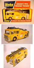 Dinky Toys 263 Airport Fire Rescue Tender Yellow mit gelben Felgen OVP #026