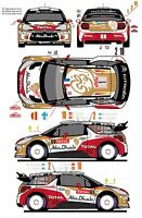 1/43 Decal Citroen DS3 WRC 1/2/10 Rally Montecarlo 2013 (Last Ones)