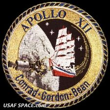 "Apollo 12  Mission Commemorative 5"" Tim Gagnon ORIGINAL AB Emblem NASA PATCH"