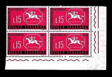ITALIA REP. - 1961 - 3ª giornata del francobollo - 15 L. - Cavallino sardo. Stam