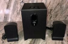 Coby CSP96 Black 300-Watt 5.1-Channel Home Theater Speaker System Subwoofer-RARE