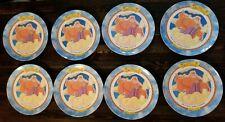 Vintage 1997 Disney Hercules Plates Set Of 8 all Zeus McDonalds Rare!!