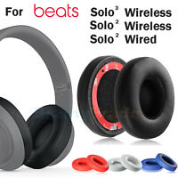 Replacement Ear Pads Cushion For Beats by Dr Dre Solo 2 Solo 3 Wireless/Wired