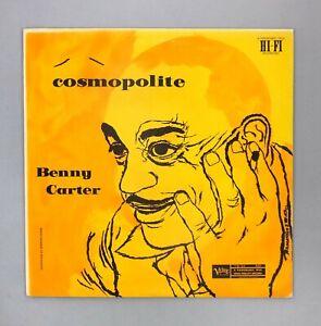 """Benny Carter - Cosmopolite - NEAR MINT - Japanese 12"""" Vinyl - MV 2635"""