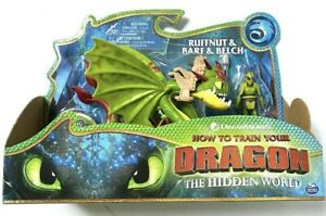 How To Train Your Dragon Hidden World RUFFNUT & BARF And BELCH Figure NEW
