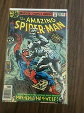 AMAZING SPIDERMAN #190 Mayhem is the Man-Wolf! Marvel Comic Book