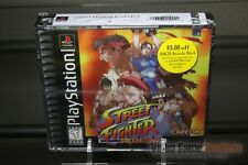 Street Fighter Collection 1 (PlayStation 1, PS1 1997) FACTORY SEALED! - RARE!