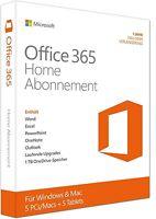 Microsoft Office 365 Home - für 6 PCs / MACs + 6 Tablets - PKC - Multilingual