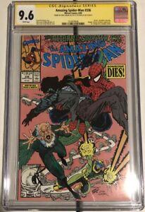 Amazing Spider-Man #336 CGC 9.6 SS 2X STAN LEE Larsen The Kingpin Dr Strange WP